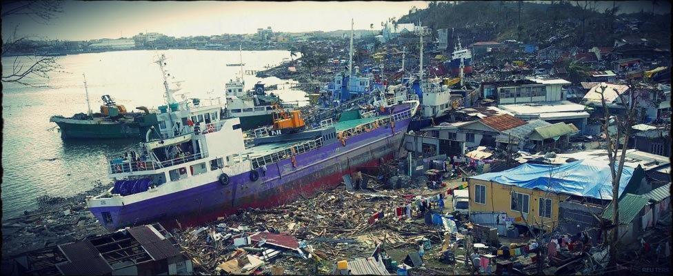 typhoon haiyan bbc